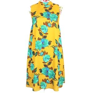 3/$35 The Limited Floral Mock Neck Dress